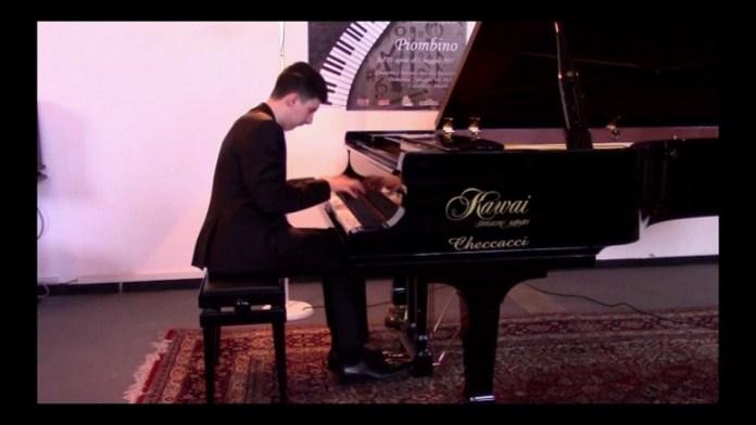 Il pianista Leonardo Merlini