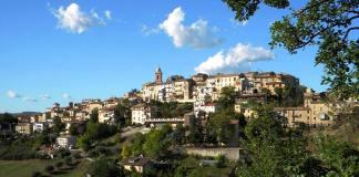Una veduta di Monsampolo del Tronto, foto da pagin Facebook Comune di Ascoli