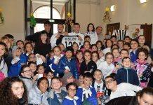 L'Ascoli Calcio alla scuola Sant'Agostino per dire No al bullismo