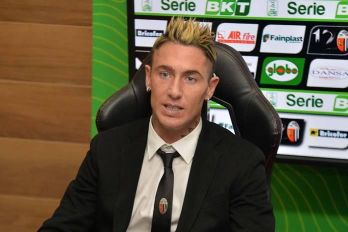 Matteo Ardemagni, foto da pagina Facebook Ascoli Calcio Fc 1898