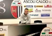 Michele Cavion, foto da pagina Facebook Ascoli Calcio Fc 1898