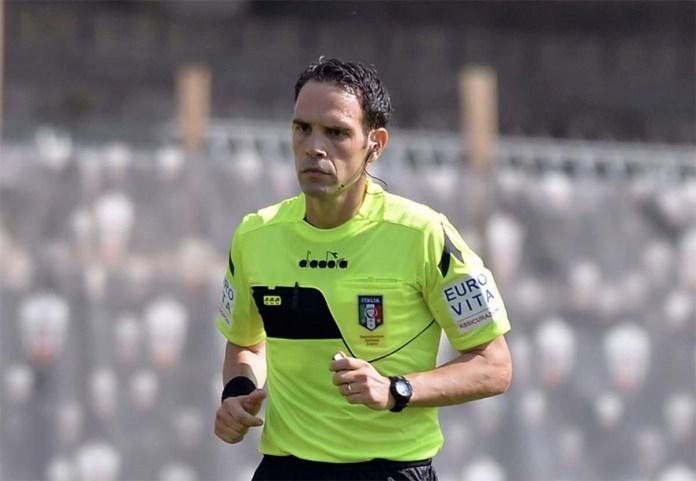 L'arbitro Valerio Marini di Roma