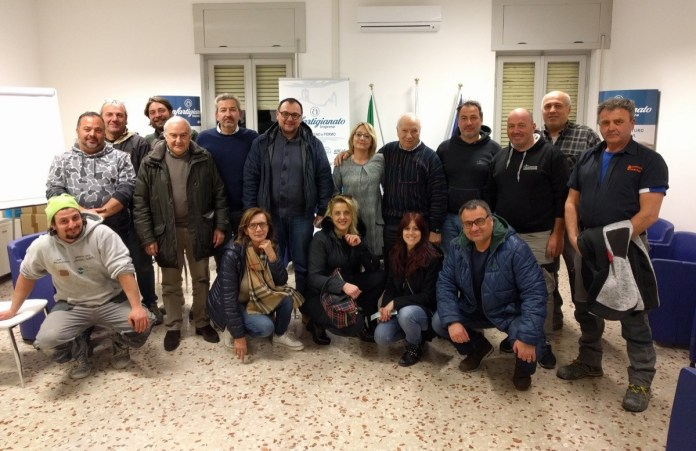 Il nuovo direttivo di Confartigianato Ascoli Piceno
