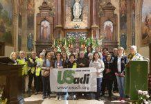 I partecipanti a una delle precedenti edizioni della camminata del santuario