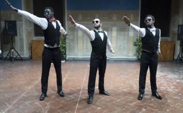 Sporco Negro - Sowe e Bianco eBah - ph Alex Nesti da ufficio stampa Teatri del sacro