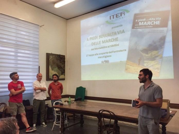 La presentazione della nuova guida per il trekking nelle Alte Marche