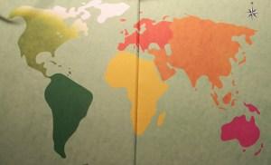 mondo cartina geografica