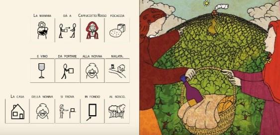 Cappuccetto rosso in CAA illustrazione
