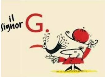 Il Signor G : una storia tanti percorsi narrativi