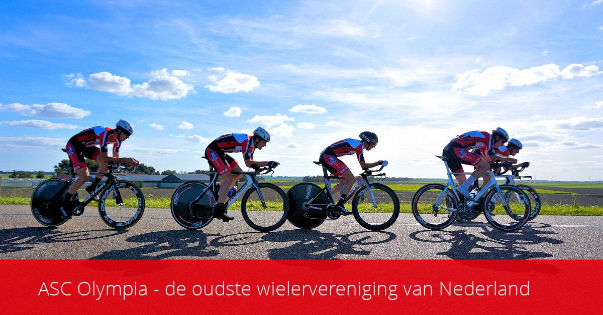 ASC Olympia - Wielrennen in Amsterdam? Natuurlijk bij bij ASC Olympia – de oudste wielervereniging van Nederland