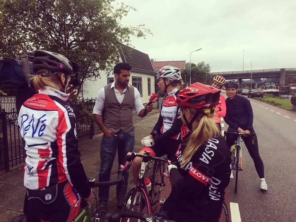 ASC Olympia - Fietsbelles: vrouwewielrennen in Amsterdam