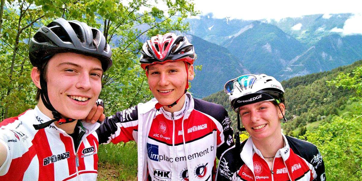 A.S.C. Olympia Alpe d'Huzes 2016 Bart Ruben Puck