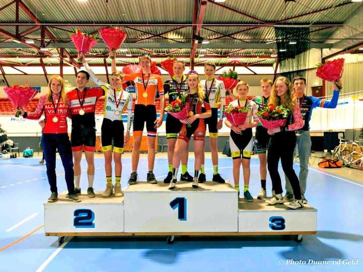 ASC Olympia - Uitslagen Nederlands Kampioenschap Baan Omnium 2018