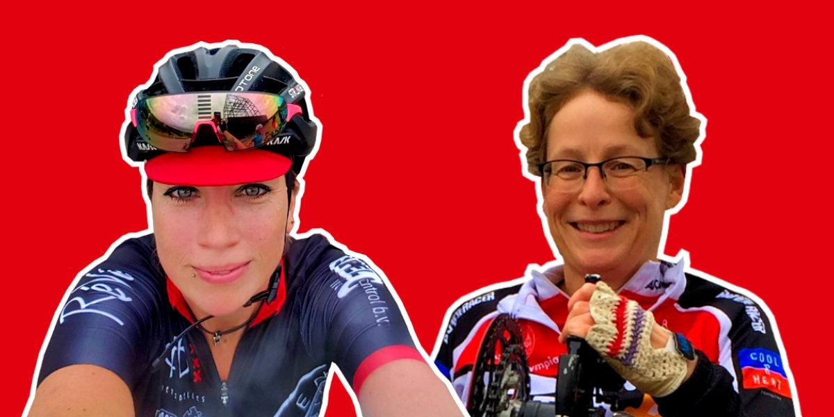 ASC Olympia - Nieuwe bestuursleden: Kim Peters (vrouwenwielrennen) & Sandra Prins (handbiken)