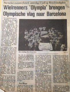 ASC Olympia - Amsterdam - Barcelona: gewoon nog een keer!