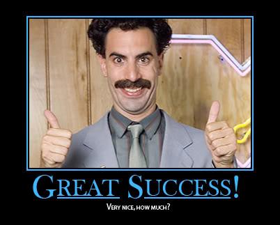 Great success