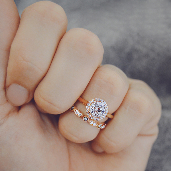 Rose Gold Diamond Rings And Wedding Bands Ascot Diamonds