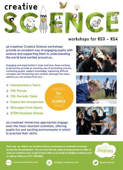 Science Workshops Secondary Schools