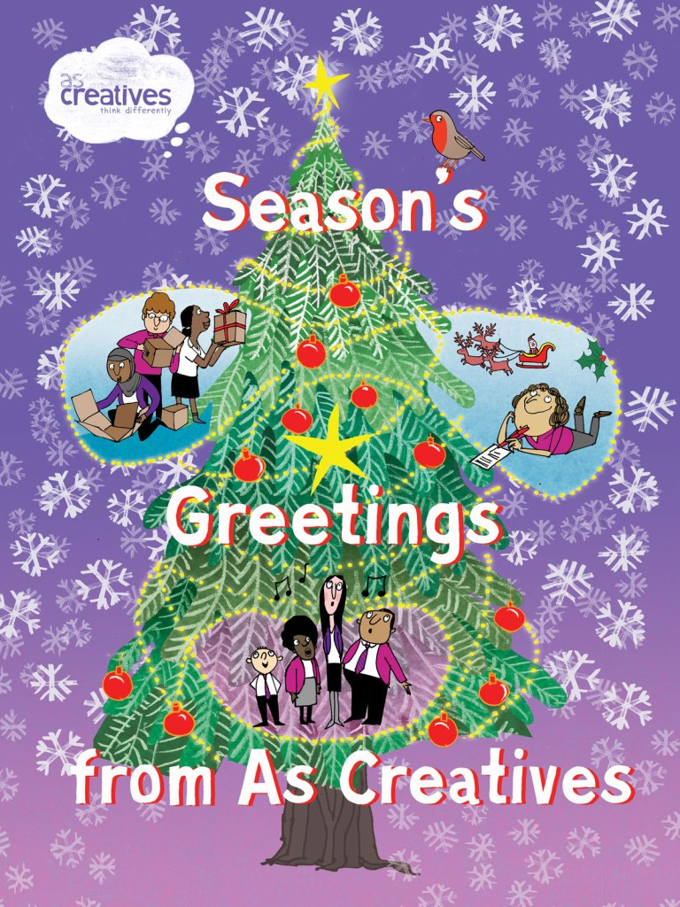 Season's Greetings from As Creatives