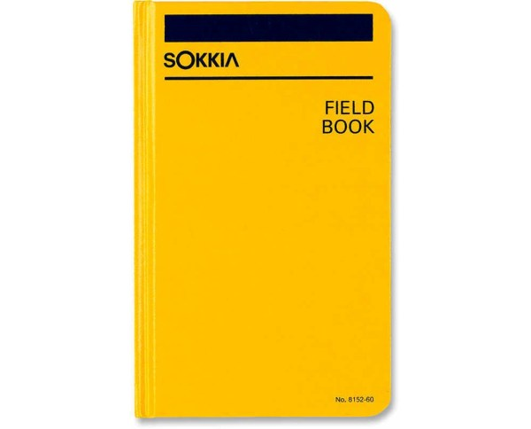 Sokkia Bound Field Books