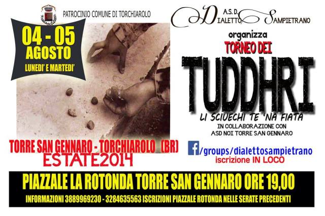 Torneo Tuddhri Torre San Gennaro Estate 2014