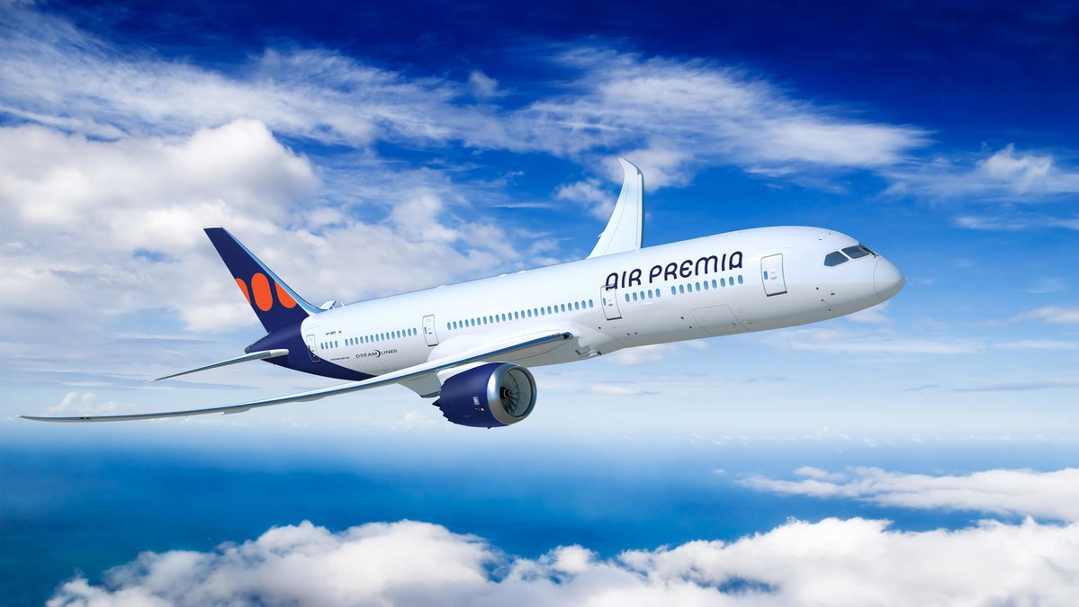 Image result for Air Premia Boeing 787-9