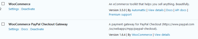 WooCommerce & PayPal Checking Gateway