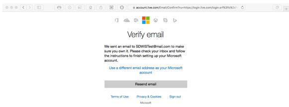 how to make a microsoft email