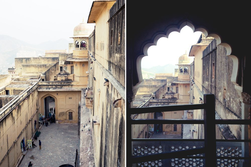 Amber Fort India travel photography 印度 琥珀堡