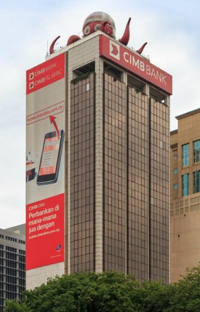 CIMB Bank Tower in Kuala Lumpur, Malaysia