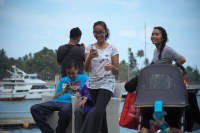 Young people in Batam, Indonesia