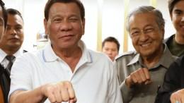 Duterte and Mahathir