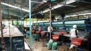Silk Factory nearby Dalat, Vietnam