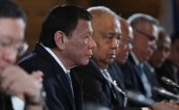 Rodrigo Duterte met Vladimir Putin on the sidelines of the Valdai International Discussion Club in Sochi