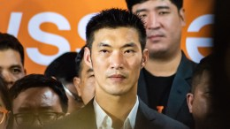 Thanathorn_Juangroongruangkit of Thailand's future forward party