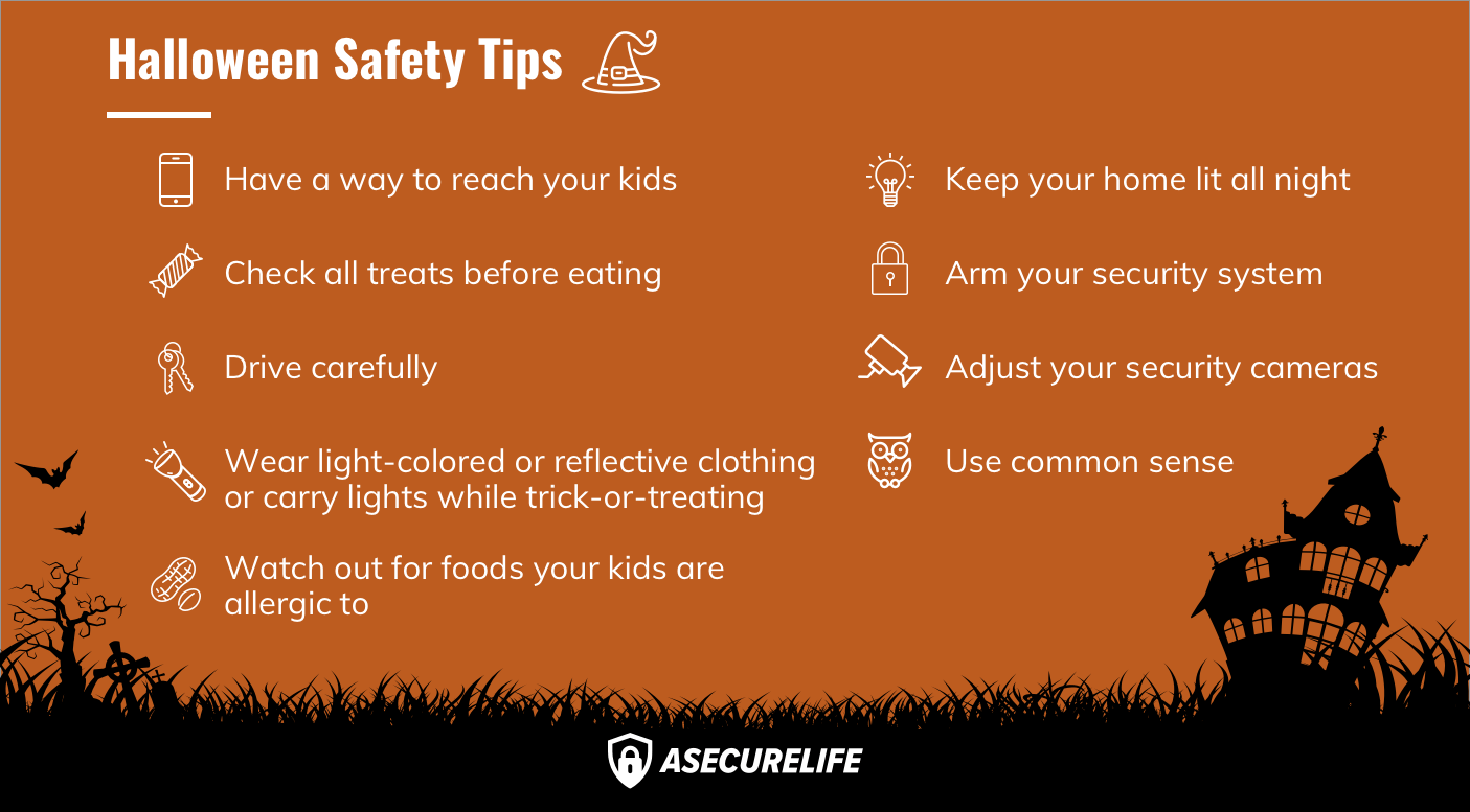 Halloween Safety Tips Don T Get Spooked Out