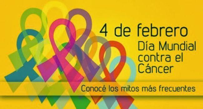 """Día mundial contra el cáncer """"Juntos es posible"""""""