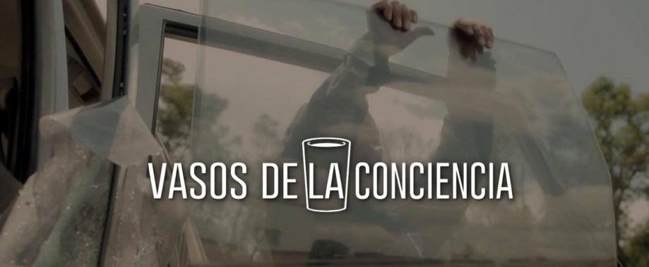 """Campaña de Axa Seguros """"vasos de la conciencia"""""""