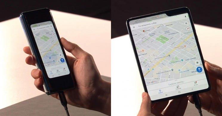 Samsung Galaxy Fold, Unpacked, 2019, prezentacija, test,