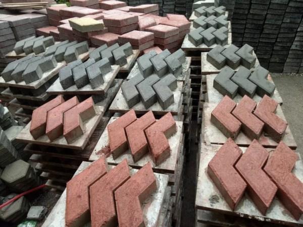 jenis paving block 3 dimensi