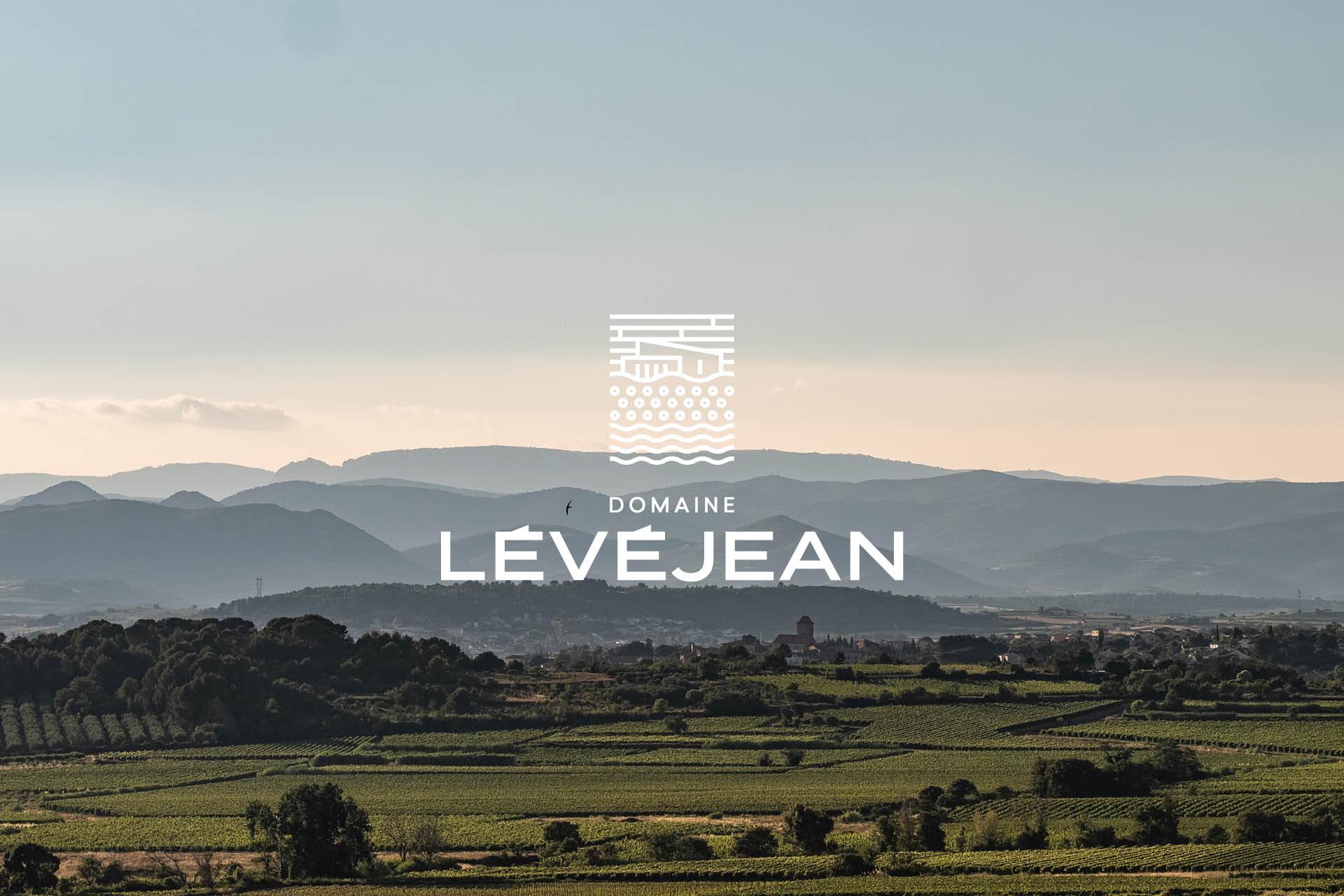Création des étiquettes du Domaine Lévéjean