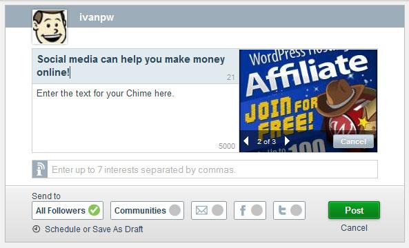 chime.in screenshot