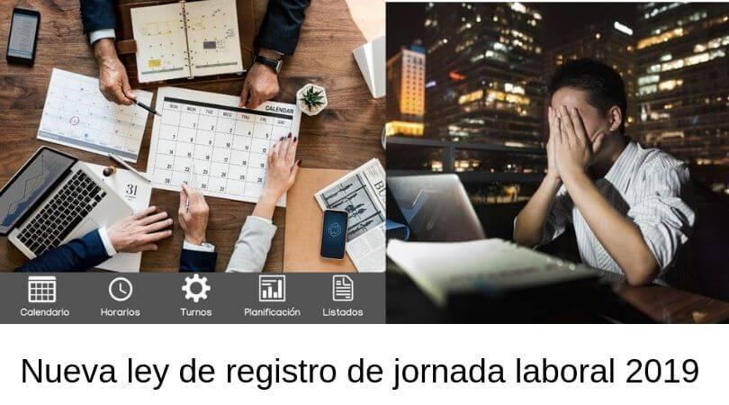 registro de jornada laboral 2019