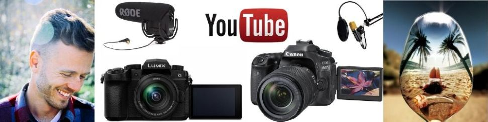 Cámaras y micrófonos para youtube