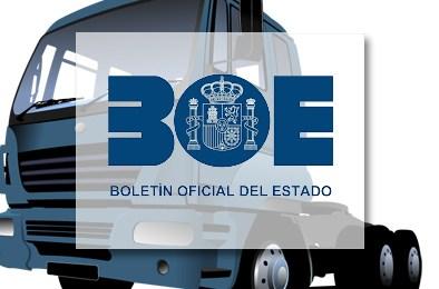 BOE: Correcciones al texto sobre regulación del tráfico en 2017