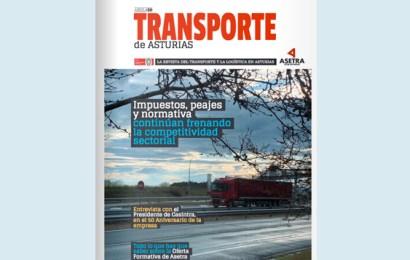 Número de abril de nuestra revista Transporte de Asturias