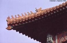 Roof Corner Detail - Forbidden City