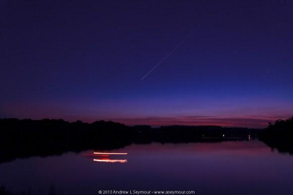 Jupiter and Venus over Marsh Creek State Park