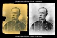 Lt Col John K Robinson (Before & After)