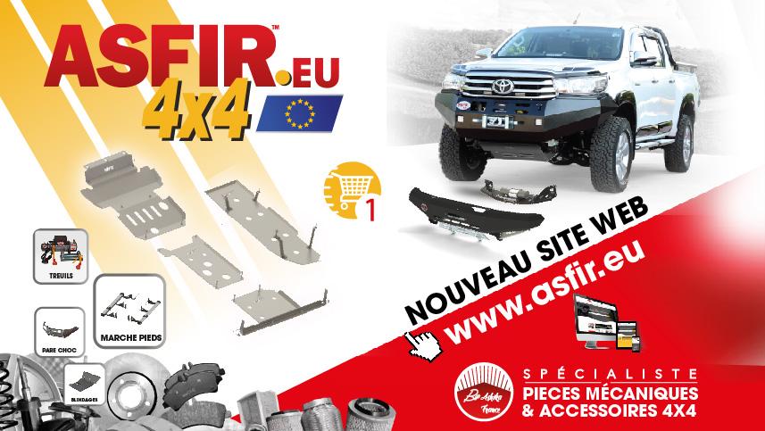 Asfir EU – Accessoires 4×4 et Pick-up – Protections et Blindages